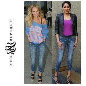 Women's Rock & Republic Hamburg crop/ankle jeans